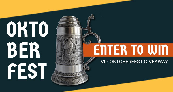 Enter to Win UNFORGETTABLE KW OKTOBERFEST EXPERIENCE