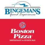 Bingemans and Boston Pizza Logo