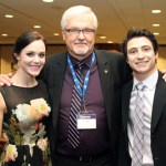 Tessa Virtue and Scott Moir at Outstanding Women of Laurier (OWL)