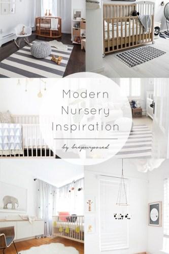 Modern Nursery Inspiration