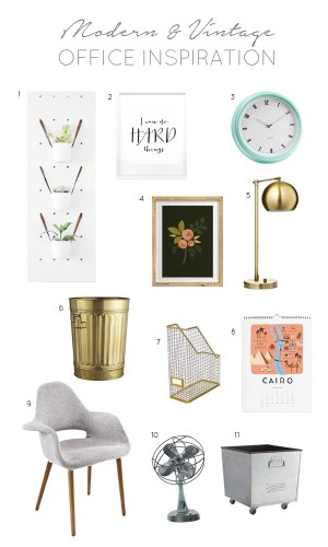 Office Plans & a Giveaway!