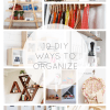 DIY Ways to Organize