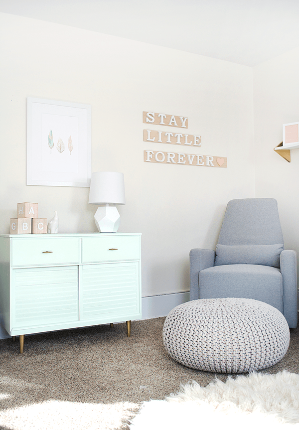 Modern and Chic Nursery