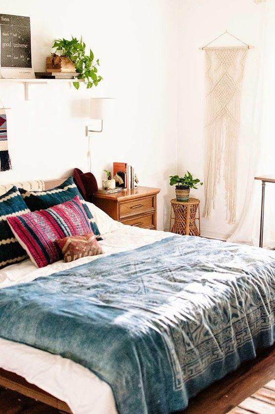 10 Beautiful Boho Bedrooms