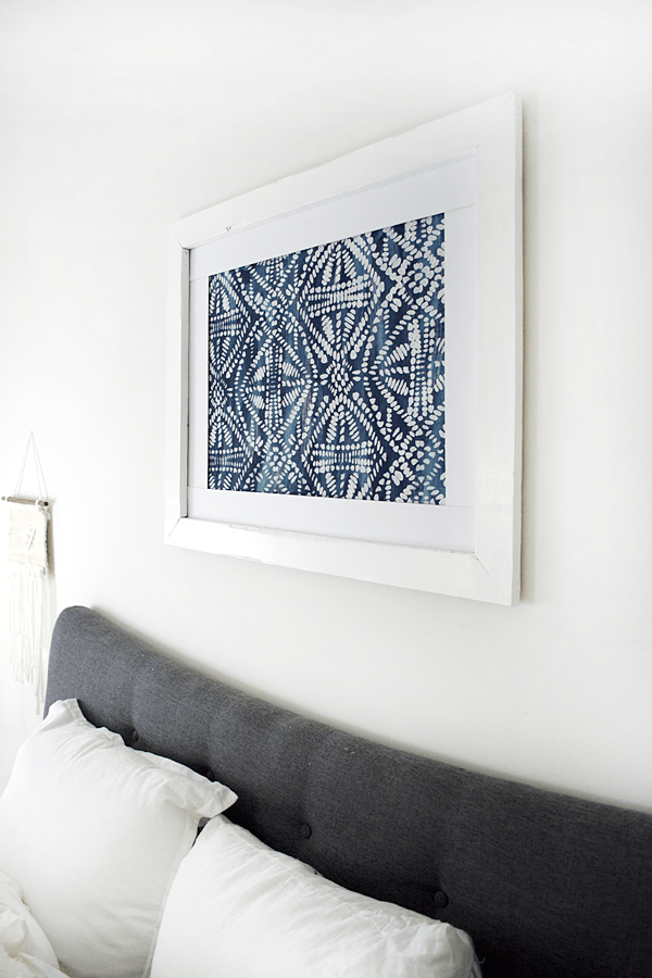 DIY Large Scale Stenciled Art