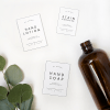 Free Labels for Laundry Room Products