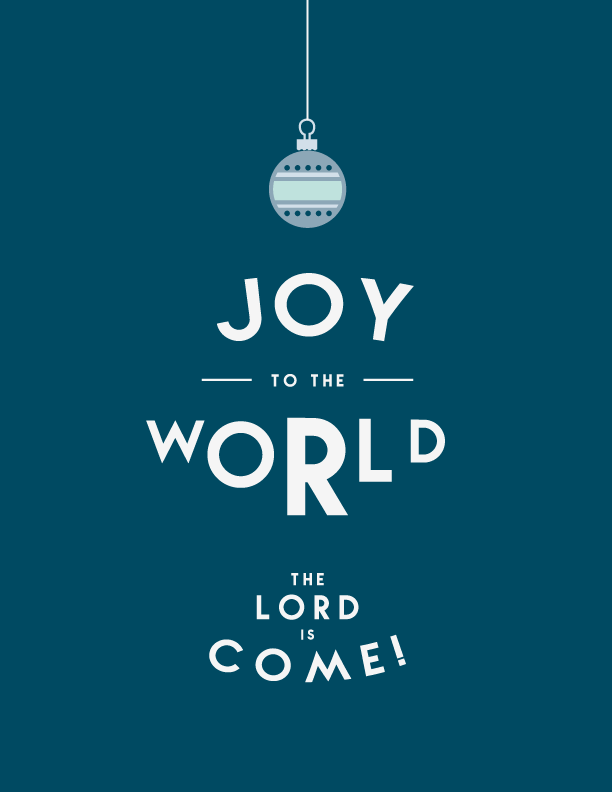 Joy to the World Print