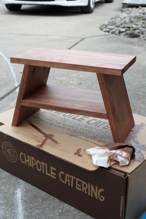 Relatively DIY Modern Step Stool | brepurposed ZU29