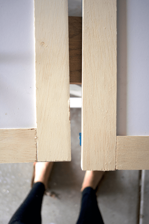 Adding Trim To Cabinets To Create Shaker Style Doors