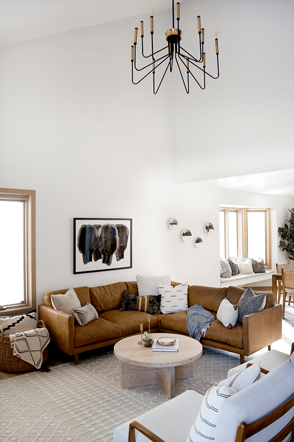 California Eclectic Living Room Reveal