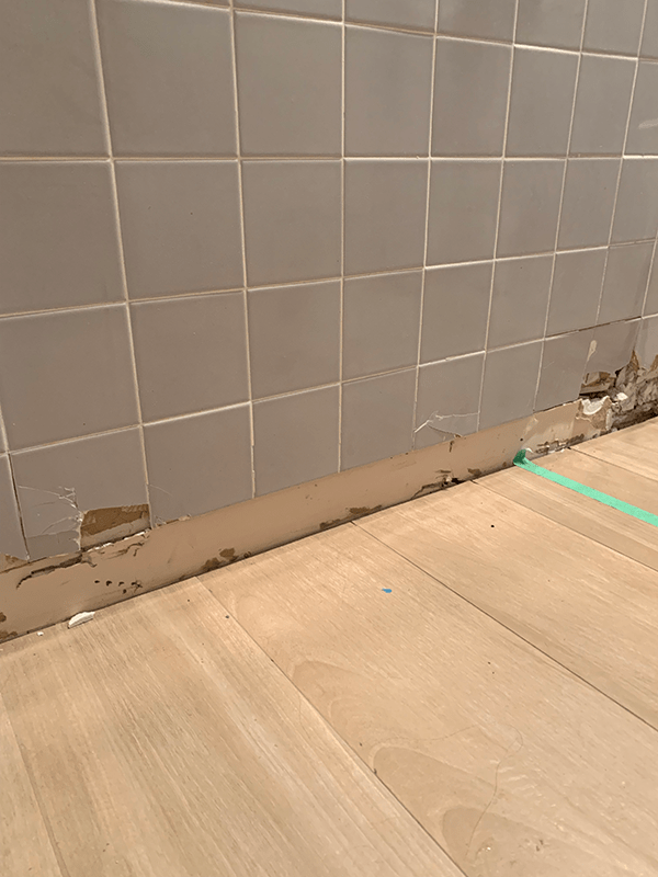 how to tile over existing tile