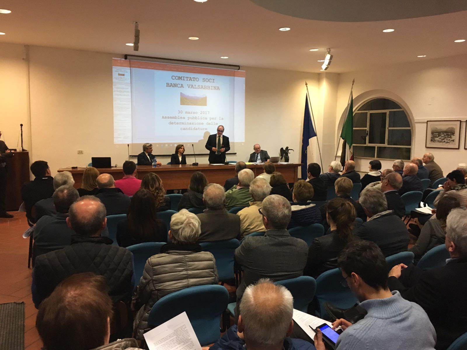 Valsabbina, assemblea soci (foto da www.bsnews.it)