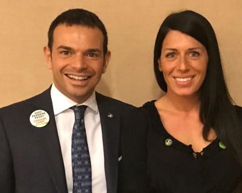 Andrea Capponi e Irene Pernisi, venditori premiati