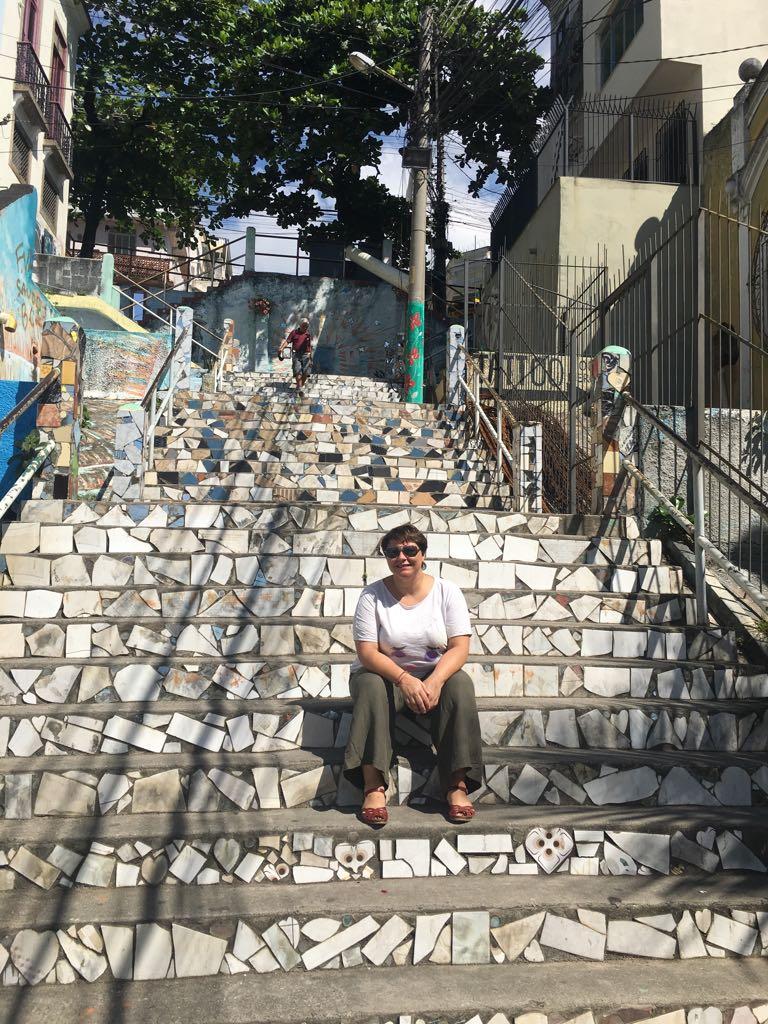 VISITE D ESCALIERS TRES PEU CONNUS A RIO
