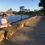 Visite de la Marina de Gloria à Rio de Janeiro, et moment détente et discussion en admirant la vue