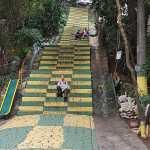 A Rio il existe beaucoup d'escaliers décorés qui ne figurent pas dans les guides