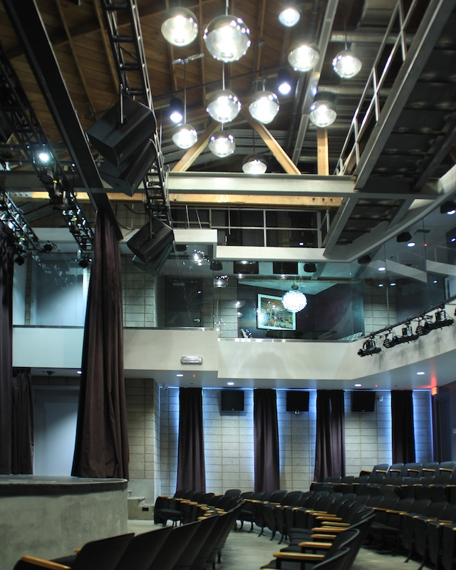 Inspire Theater Ceiling