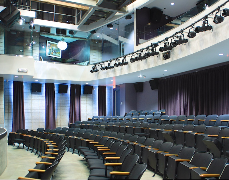 Inspire Theater and Upper Seating Area