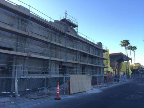 Boulevard Mall Facade Remodel Progress April 2015  - 4