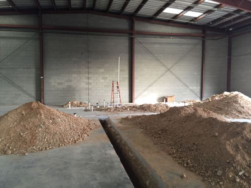 Redwood Warehouse Progress Photos 12-4-15 - 2