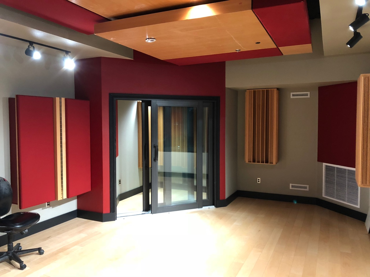 ... Institute Of Las Vegas. The Sound Panels And Other Acoustical Items Are  Being Installed, As Well As The Other Finishing Touches, Ready For AI To  Install ...