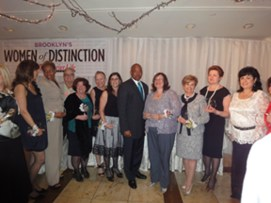 brooklyn women of distinction 2014 eric adams brooklyn borough president - annette fisher