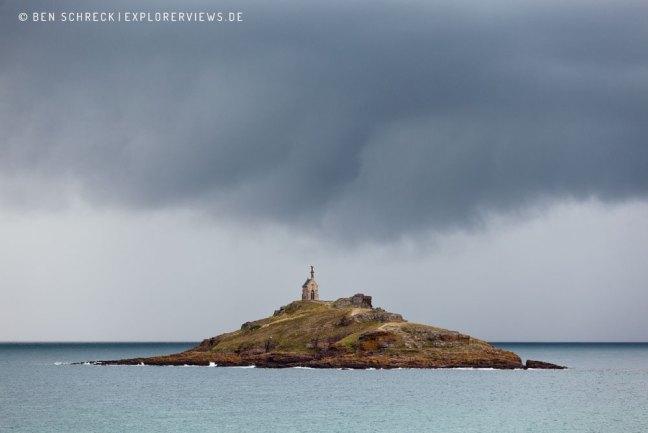 Kapelle auf der Gezeiteninsel