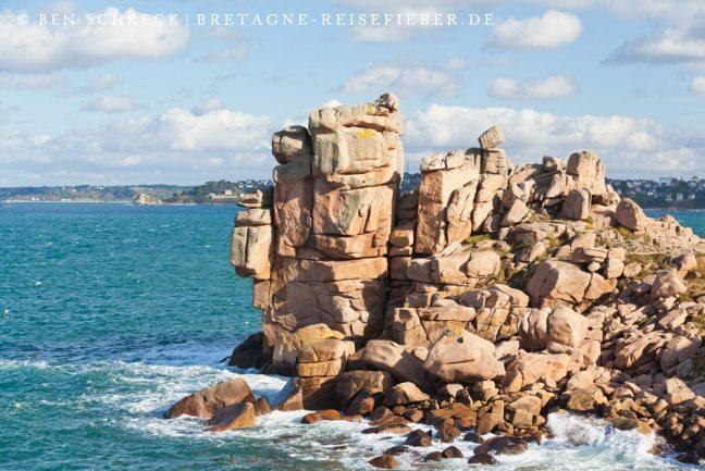 Rosa Granitküste Burg