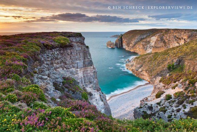 Fotografieren am Meer Bretagne Cap Frehel