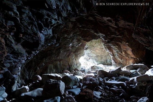 Schwarze Grotte Meeresgrotten