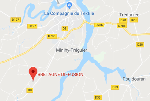 MAPS BRETAGNE DIFFUSION