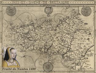 Duché de Bretagne_traité Nantes de 1499