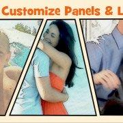 custom panels and layouts