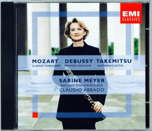 Sabine Meyer, Mozart/Debussy/Takemitsu