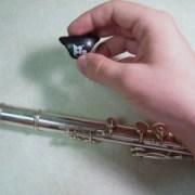 the Bo-Pep Flute Finger Rest