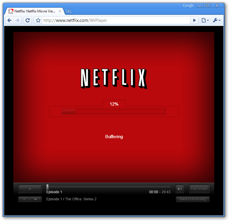 How to: Watch Netflix in Chrome