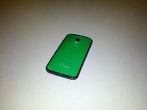 Moto X with Case