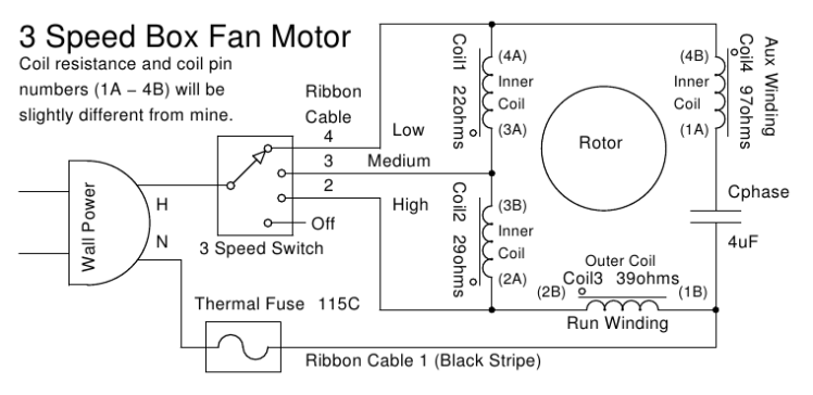 electric fan motor wiring diagram wiring diagram electric fan wiring diagram capacitor