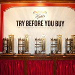 Mechanical sample machines for Kiehl's 160 year retrospective