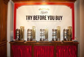 Kiehl's Mechanical Sample Dispensers