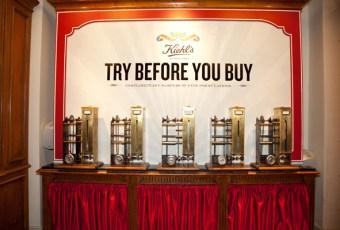 Kiehl's Mechanical Sample Dispensers