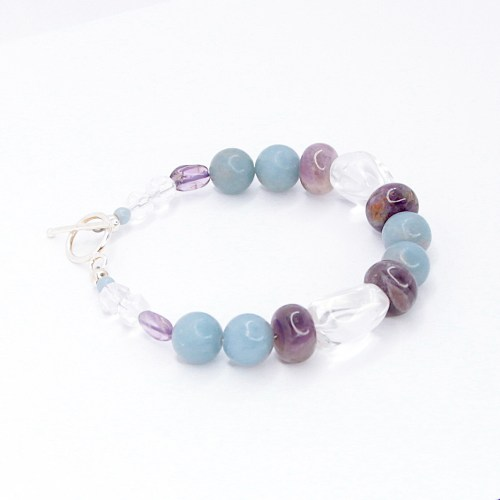 amethyst_kyanite_clear_quartz_prayer_connection_gemstone_bracelet