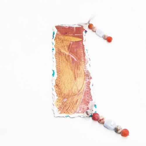 bookmark_original_artwork_silk_hand_dyed_ribbon_gemstone_crystal_blue_lace_agate_druzy_back
