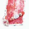 bookmark_original_artwork_silk_hand_dyed_ribbon_gemstone_crystal_blue_lace_agate_druzy_front_detail