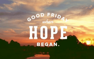 Good Friday reflections