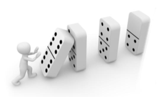 Domino change