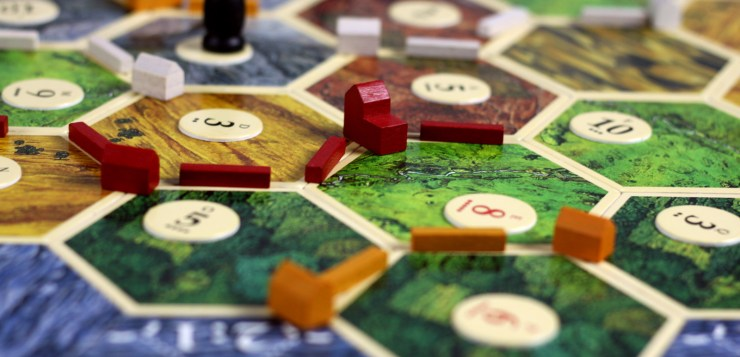 Settlers of Catan board games