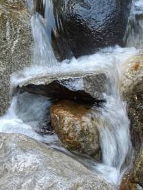 power of water over stone