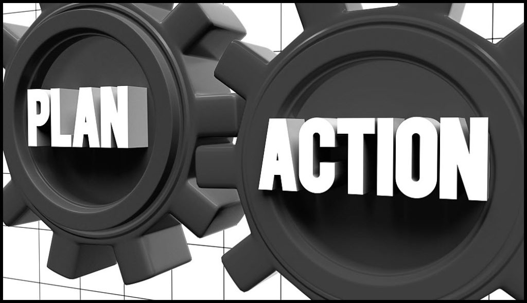 daily action for online success