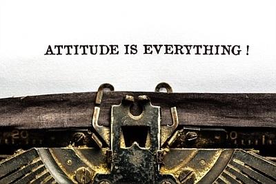The right attitude will get you through the tough times